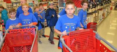 PHOTO GALLERY: Middle School Shopping Spree