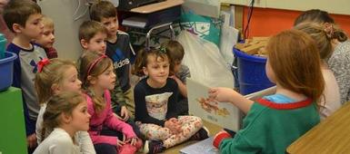'12 Days of Giving' Continues for Fourth Graders
