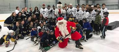 Skate with the Lakers Supports Local Food Bank