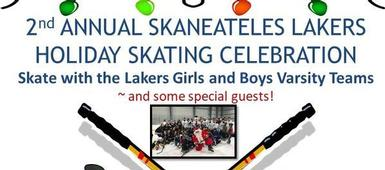 2nd annual Skaneateles Lakers Holiday Skating Celebration on December 22