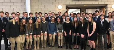 SHS Students Take Part in Region 9 DECA Conference